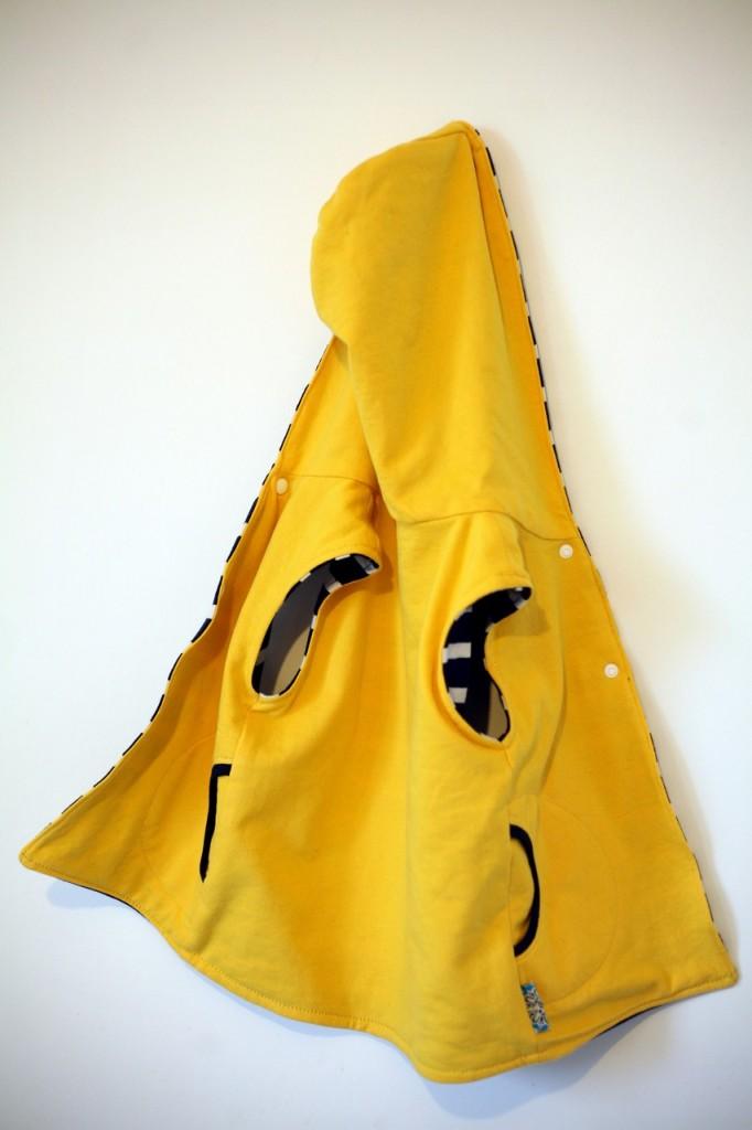 Molleton jaune Butinette