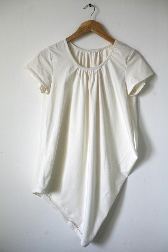 Tee-shirt drapé