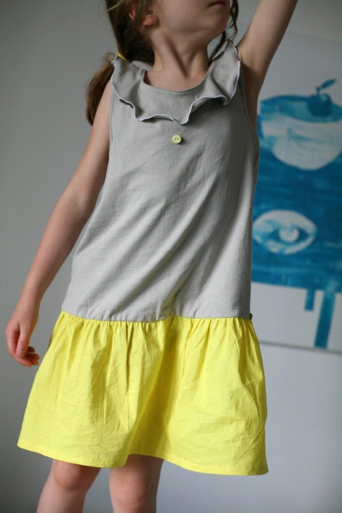 Robe Ottobre jaune