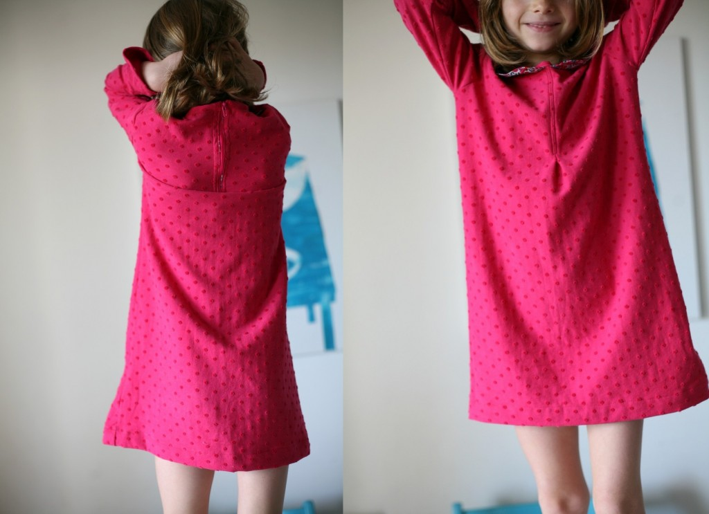 robe-pois-rose