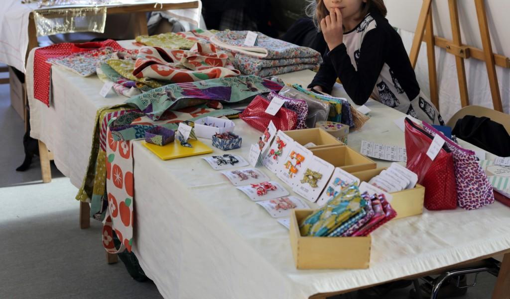 stand marché de noël artisanal de Talence