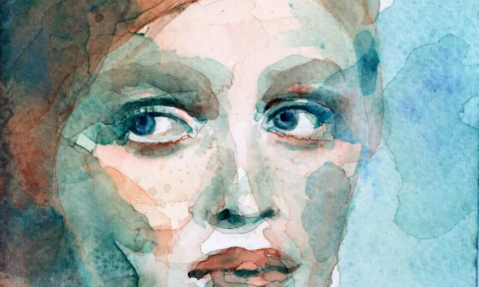 portrait aquarelle par Segolene Metais